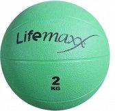Lifemaxx medicine balls 2kg groen