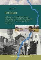 Maaslandse monografieen 77 - Het tekort
