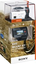 Sony HDR-AZ1VB met Wi-Fi - Action Camera - Bike Kit