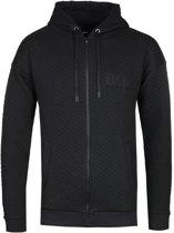 Hugo Boss jacket hoodie met rits zwart-S