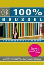 100% / Brussel + stadsplattegrond