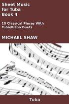 Sheet Music for Tuba: Book 4