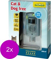 Ecostyle Cat & Dog Free 200 - Afweermiddel - 2 x 200 m2