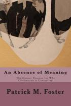 An Absence of Meaning