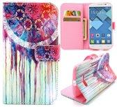 Dreamcatcher wallet hoesje Alcatel one touch C7
