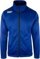 Robey Premier Trainingsjack - Voetbaljas - Royal Blue - Maat L