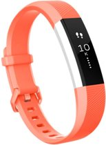 SVH Company Siliconen bandje - Fitbit Alta (HR) - Coral Pink - Small