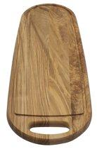 Klawe Snijplank zalm met handvat - 60 x 20 x 2 cm - Essenhout