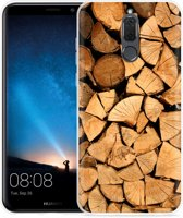 Huawei Mate 10 Lite Hoesje Boomstammen