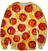 Pizza trui Maat XL
