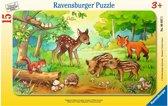 Ravensburger Jonge Dieren in het Bos - Kinderpuzzel