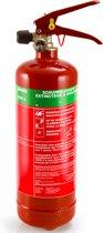 Alecto ABS-2 Schuim Brandblusser A,B 2 Liter - Geschikt en gecertificeerd voor NL en BE