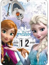 Frozen*Frozen Draaidoor kalender - Elsa - Anna - Ophangbaar - 27 x 37 x 0,8 cm