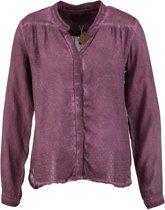 Garcia blouse aubergine Maat - S