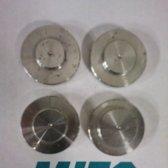Set van 4 asgat controleringen: 20 mm, 22,2 mm, 25,4 mm en 30 mm.