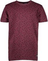 Cars jeans t-shirt jongens - bordeaux - Vinstar - maat 128