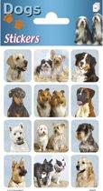 Stickers Honden 3 vellen