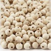 Houten kralen, d: 10 mm, china berry, 500 stuks