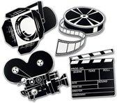 Filmdeco dubbelzijdig bedrukt 40 cm papier
