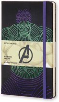 Moleskine notitieboek The Avengers Hulk - Limited Edition - Large - Gelinieerd