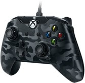 PDP Gaming Controller - Official Licensed - Xbox One + Windows - Zwart Camo