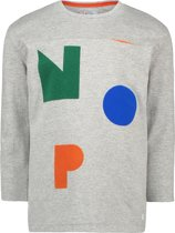 NOP  Jongens T-shirt Willowick - Grey Melange - Maat 116