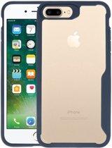 Focus Transparant Hard Cases voor iPhone 7 Plus / 8 Plus Navy
