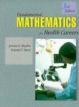 Fundamentals of Mathematics for Health Careers