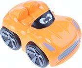 Johntoy Baby Raceauto Oranje 9 Cm