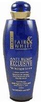 Fair And White Exclusive Whitenizer Anti Bump Lotion 250 ml