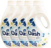 Dash 2in1 Lotus & Lelie bloemen - 4 x 1.495L (92 wasbeurten) - Vloeibaar Wasmiddel - Voordeelverpakking