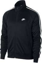 Nike Nsw He Jkt N98 Tribute Heren Sportvest - Black/(White) - Maat L