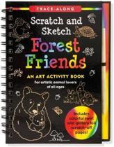 Forest Friends Scratch & Sketch (Trace Along)