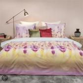 HnL Pure Cotton Lavender dekbedovertrek - Multi - 1-persoons (140x200/220 cm + 1 sloop)