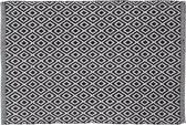 Sealskin Trellis - Badmat - 60x90 cm - Zwart