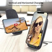 ESR Draadloze oplader voor iPhone X Qi Donker Grijs