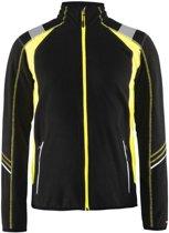 Blaklader 49931010 Microfleecevest Visible | Fleece vest
