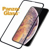 PanzerGlass Case Friendly Screenprotector voor iPhone Xs Max - Zwart