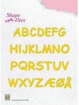 Nellies Choice Shape Mal - Alphabet SD037