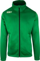 Robey Premier Trainingsjack - Voetbaljas - Green - Maat 128