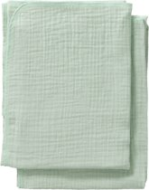Cottonbaby Multidoek soft S 60x70 per2 mint