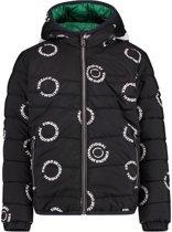 Vingino Meisjes Jacket Outdoor - Deep Black - Maat 104