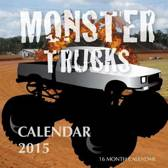 Monster Trucks Calendar 2015