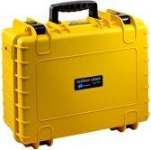 B&W International Type 500 Outdoor Case incl. schuimstof - geel
