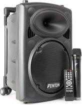 Fenton FPS10 Mobiel Geluidssysteem 10 inch BT/MP3/USB/SD/VHF