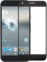 Let op type!! Front Screen Outer Glass Lens for Google Pixel (Black)