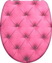 SCHÜTTE WC-Bril 82159 SOFT SEAT - Duroplast - Soft Close - Verchroomde Scharnieren - Decor - 1-zijdige Print