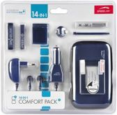 Speedlink COMFORT PACK,14in1 - for NDSi, metallic blue