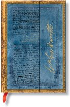 """Paperblanks Wordsworth, Letter Quoting """"Daffodils"""" Midi Lined Journal"""