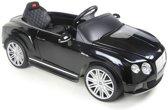 Bentley Continental GTC Elektrische Kinderauto met afstandsbediening - 12V 2 motors - Zwart